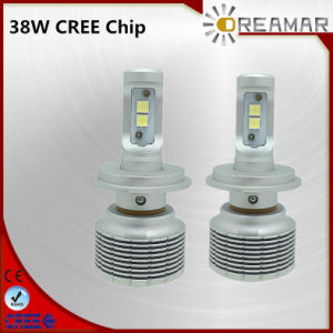 S3 38W 5000lm Auto LED Car Headlight with CREE Chip, 6500K pictures & photos