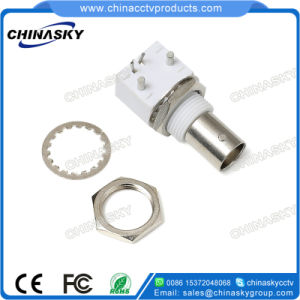 CCTV BNC Female Connector for Coaxial Cable (CT104) pictures & photos