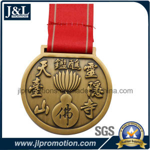 High Quality Zinc Alloy Medal 3D No Enamel pictures & photos