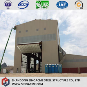 Steel Structure High Rise Industrial Plant with Crane pictures & photos