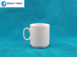300cc Stackable Straight Shape Porcelain Tea Cup for Restaurant pictures & photos