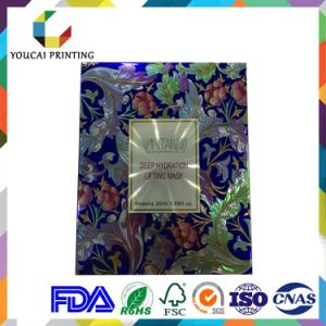 Fancy Looking Hot Stamping Surface Cosmetic Box for Mask Packaging pictures & photos