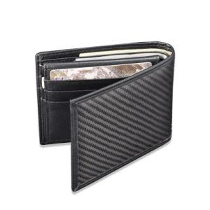 Popular Carbon Fiber Wallet Passport Credit Card Holder Wallet pictures & photos