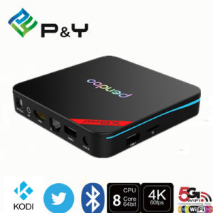 P&Y Hot Selling Pendoo X8 PRO + Android 6.0 Smart TV Box S905X 1080P Full HD Set Top Box WiFi Latest Price pictures & photos
