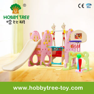 2017 Ce Certification Plastic Slide Toys for Baby and Kids (HBS17029B)