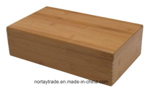Nortay Bamboo Tea Storage Box Natural Finished pictures & photos