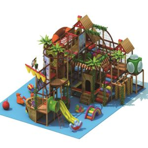 Dinosaur Pattern Indoor Playground Commercial Used Safe Big Toys pictures & photos