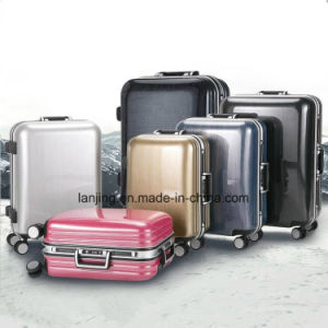Bw1-054 ABS Aluminium Trolley Bag and Suitcase Cabin Simplex Luggage pictures & photos