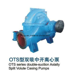 Ots Types Double-Suction Axial Split Volute Casing Paper Water Centrifugal Pump pictures & photos