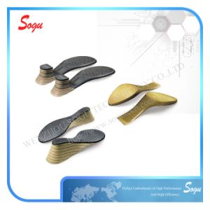Shoe Heel Surface by Pad Printer with Clear Vein pictures & photos