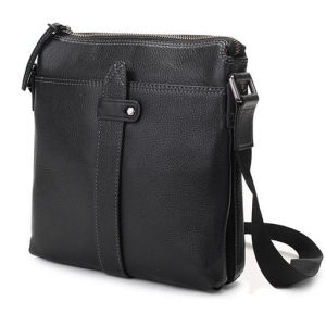 Man′s Genuine Leather Bag High Quality Stitching Shoulder Bag (RS-GR0023) pictures & photos