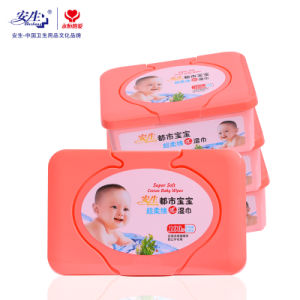Skin Care Spunlace Nonwoven Cheaper Baby Wet Wipes Without Alcohol pictures & photos