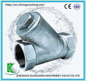 Screw Thread End Y Pattern Strainer (SY11C) pictures & photos