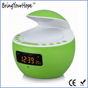 USB Play LED Show Thermometer LED Light Portable Bluetooth Speaker (XH-PS-651) pictures & photos