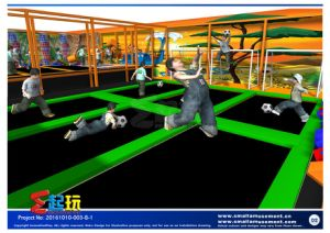 Innovation Play of Trampoline Park pictures & photos