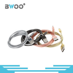 Plating Spring Lightning Micro USB Data Cable Mobile Phone Cable pictures & photos