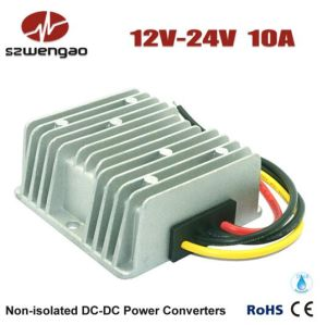 Step up 12V DC to 24V DC 10A Power Converter pictures & photos