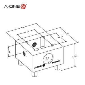 a-One Erowa Electrode Holder EDM Automation (3A-501105) pictures & photos