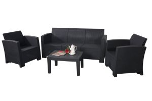 New Outdoor Rattan Furniture Garden Leisure Sofa, Patio Sofa, Plastic Sofa (KD) pictures & photos