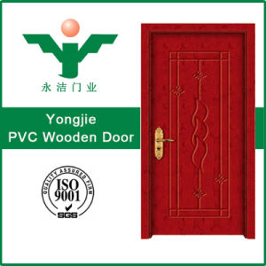 High Quality Economical PVC Wood Door (WFP-344) pictures & photos
