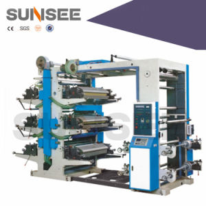 Flexo Printing Machine for Non-Woven Bag /Paper Cup (CE) pictures & photos