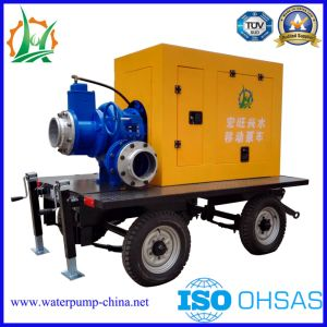 Diesel Engine Self Priming Centrifugal Trailer Mounted Water Pump pictures & photos