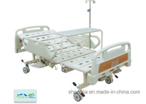 Sjb202mc Luxurious Hospital Bed with Double Revolving Levers