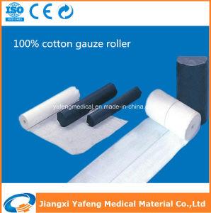 Plain Cotton Gauze Roll pictures & photos