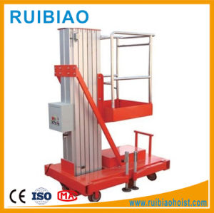 Light Duty Lifting Equipment Aluminum Lift Table with Best Safety pictures & photos