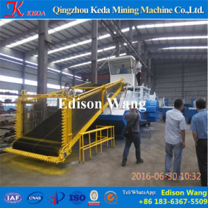 New Product Water Weed Cutting Harvester on Hot Sale pictures & photos