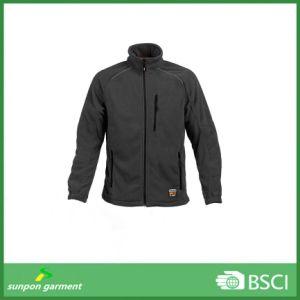 Custom Men′s 100% Polyester Polar Fleece Outdoor Jacket pictures & photos