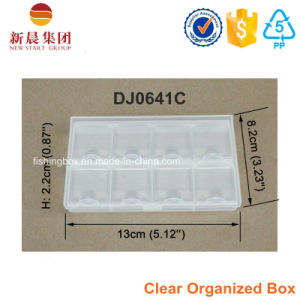 Clear Compartment Plastic Box pictures & photos