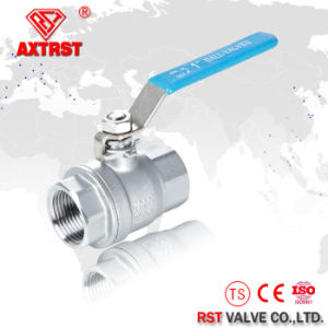 2PC 304 Stainless Steel Full Bore Ball Valve pictures & photos