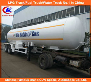 Heavy Duty 3 Axle LPG Tank Semi Trailers, 40m3 54m3 56m3 60m3 LPG Tank for Bangladesh Market pictures & photos