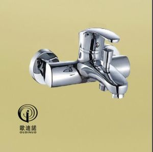 Oudinuo Single Handle Brass Wall-Mounted Kitchen Mixer & Faucet 68318-1 pictures & photos