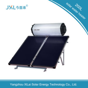 200L Supply High Quality Flat Plate Solar Water Heater pictures & photos