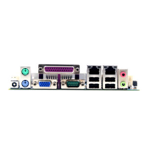 Manufacturer Motherboard with Intel Atom CPU / 8*USB/2* RJ45 Port/6*COM/1*Lpt pictures & photos