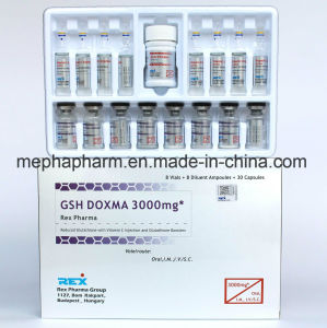 Beauty Products Glutathione for Injection 3000mg* (8+8+1) pictures & photos