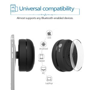 Jemma Waterproof Bluetooth Wireless Shower Portable Handsfree Call Mini Speaker pictures & photos