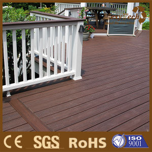 Household Back Yard Repairs WPC Coextrusion Hollow Decking Flooring pictures & photos