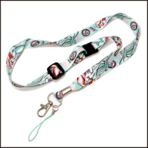 Customizable Dye Sublimated/Heated Transfer Custom Lanyard with OEM Design pictures & photos