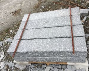 Light Grey Granite Pineappled Kerb for Wholeseller pictures & photos