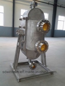 WBZ 500 Semi-Circular Shell All Welded Plate Heat Exchanger/High Pressure/High Temperature pictures & photos