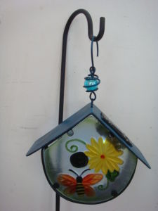 Metal Cage Solar Power Crafts for Home and Garden Decoration pictures & photos
