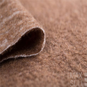 Wool /Polyester Fabric with Good Elasticity for Autumn in Brown