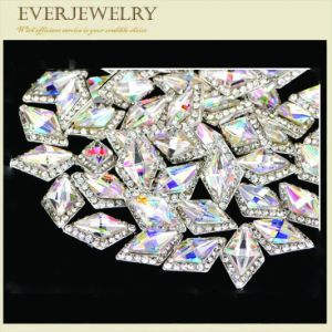 High Quality Different Shape Glossy Nail Crystal Stones with Various Color pictures & photos