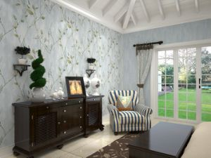 GBL Living Room Nonwoven Wall Paper pictures & photos