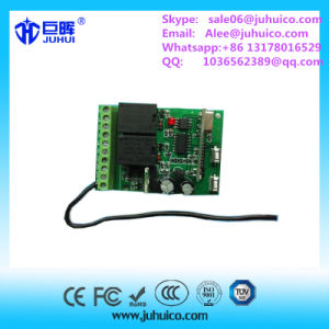 2 Relays Receiver Gate Opener 433.92MHz Support Rolling Code and Fixed Code Transmitter pictures & photos