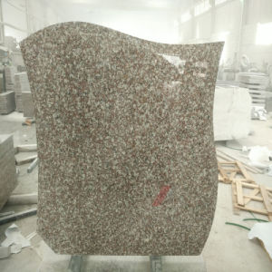 Poland Style Tombstone/Gravestone/Monument Made of G664 Purple Granite pictures & photos