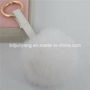 Rabbit Fur Pompom Balls for Bag Pendant pictures & photos